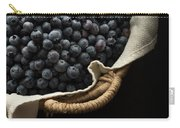 Basket Full Fresh Picked Blueberries Carry-all Pouch