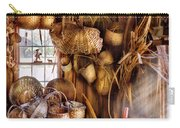 Basket Maker - I Like Weaving Carry-all Pouch by Mike Savad