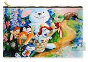 Basket Of Bunnies Carry-all Pouch