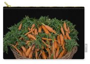 Basket Of Carrots Carry-all Pouch