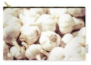 Basket Of Garlic Carry-all Pouch