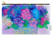 Basket Of Hydrangeas Carry-all Pouch