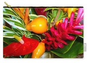 Basket Of Tropic Carry-all Pouch