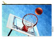 Basketball Hoop And Ball 1 Carry-all Pouch by Lanjee Chee
