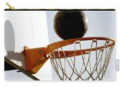 Basketball Hoop And Ball Carry-all Pouch