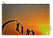 Basketball Sunrise Carry-all Pouch