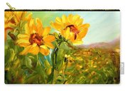 Basking In The Sun Carry-all Pouch by Barbara Pirkle