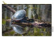 Basking Turtle Carry-all Pouch