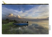Bass Fishin' Blues Carry-all Pouch by Debra and Dave Vanderlaan