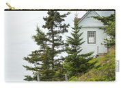 Bass Harbor Light Station Overlooking The Bay Carry-all Pouch