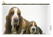 Basset Hound Dogs Carry-all Pouch