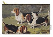 Basset Hounds Carry-all Pouch