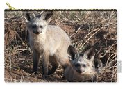 Bat Eared Fox Kits Carry-all Pouch