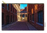 Bates Mill Lewiston Maine Carry-all Pouch by Bob Orsillo