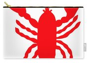 Bath Maine Lobster With Feelers Carry-all Pouch