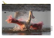 Bath Time - Roseate Spoonbill Carry-all Pouch