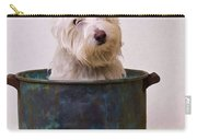 Bath Time Westie Carry-all Pouch