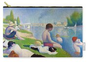 Bathers In Asnieres Carry-all Pouch