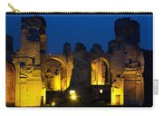Baths Of Caracalla Carry-all Pouch