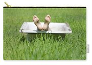 Bathtub And Feet Carry-all Pouch