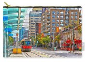 Bathurst Street Car Coming North To Queen Street Carry-all Pouch