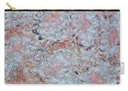 Batik-marble Carry-all Pouch