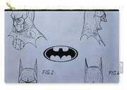 Batman Mask Patent Carry-all Pouch