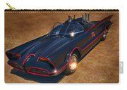Batmobile Carry-all Pouch by Tommy Anderson