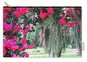 Baton Rouge Louisiana Crepe Myrtle And Moss At Capitol Park Carry-all Pouch