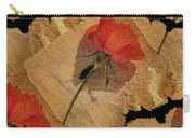 Bats And Roses Carry-all Pouch