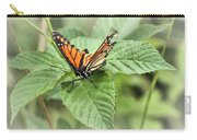 Battered Butterfly Carry-all Pouch