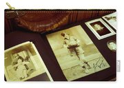 Battered Suitcase Of Antique Photographs Carry-all Pouch