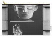 Battery Park Art In Black And White Carry-all Pouch