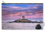 Battery Point Lighthouse And Moon Carry-all Pouch