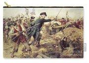 Battle Of Bennington Carry-all Pouch by Frederick Coffay Yohn