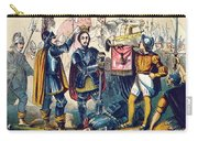 Battle Of Bosworth, Henry Vii Crowning Carry-all Pouch