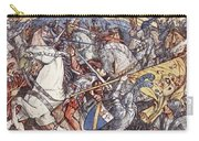 Battle Of Fornovo, Illustration Carry-all Pouch