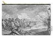Battle Of Lexington, April 19th 1775, From Recueil Destampes By Nicholas Ponce, Engraved Carry-all Pouch