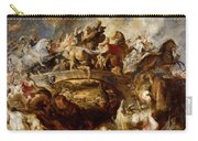 Battle Of The Amazons Carry-all Pouch