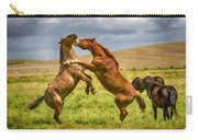 Battling Stallions Carry-all Pouch