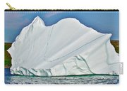 Batwing Iceberg In Saint Anthony Bay-newfoundland-canada  Carry-all Pouch