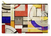 Bauhaus Rectangle Three Carry-all Pouch