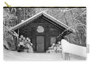 Bavarian Hut In Snow Carry-all Pouch