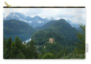 Bavarian Lake With Castle Carry-all Pouch