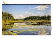 Bay At The Waskesiu Lake With Lily Carry-all Pouch