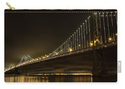 Bay Bridge And Fog  Carry-all Pouch
