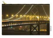 Bay Bridge Fog Carry-all Pouch