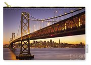 Bay Bridge Over San Francisco Carry-all Pouch