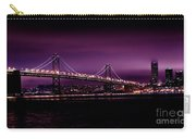 Bay Bridge Purple Haze Carry-all Pouch
