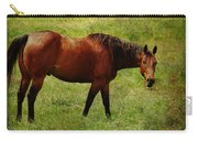 Bay Horse Carry-all Pouch